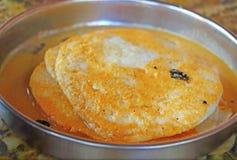 Παραδοσιακό Κεράλα Masala Dosa σπιτικός Στοκ εικόνα με δικαίωμα ελεύθερης χρήσης