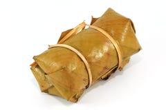 Παραδοσιακό κολλώδες επιδόρπιο ρυζιού Στοκ Εικόνες