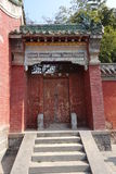 Παραδοσιακό κτήριο στο ναό Guan Yu Στοκ φωτογραφία με δικαίωμα ελεύθερης χρήσης
