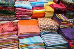 Παραδοσιακό κλωστοϋφαντουργικό προϊόν στην Ταϊλάνδη Στοκ φωτογραφία με δικαίωμα ελεύθερης χρήσης
