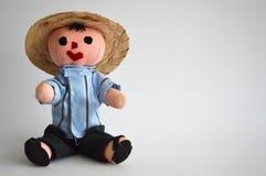 Παραδοσιακό μεξικάνικο εθνικό χέρι - γίνοντη κούκλα Στοκ εικόνες με δικαίωμα ελεύθερης χρήσης
