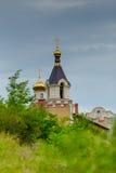 Παραδοσιακό μολδαβικό μοναστήρι Στοκ Φωτογραφίες