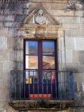 Παραδοσιακό μπαλκόνι δαντελλών σιδήρου, Poble Espanyol, Βαρκελώνη Στοκ φωτογραφία με δικαίωμα ελεύθερης χρήσης