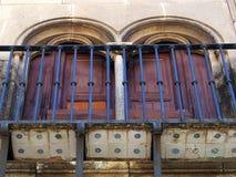 Παραδοσιακό μπαλκόνι, Poble Espanyol, Βαρκελώνη Στοκ εικόνα με δικαίωμα ελεύθερης χρήσης