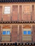 Παραδοσιακό μπαλκόνι, Poble Espanyol, Βαρκελώνη Στοκ φωτογραφίες με δικαίωμα ελεύθερης χρήσης