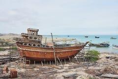 Παραδοσιακό ναυπηγείο Στοκ Φωτογραφία