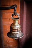 Παραδοσιακό νεπαλικό κουδούνι Στοκ Φωτογραφία