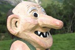 Παραδοσιακό νορβηγικό Troll Στοκ Εικόνες