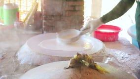 Παραδοσιακό νουντλς που κάνει το εργοστάσιο φιλμ μικρού μήκους