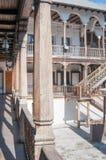 Παραδοσιακό ξύλινο πανδοχείο Στοκ φωτογραφία με δικαίωμα ελεύθερης χρήσης