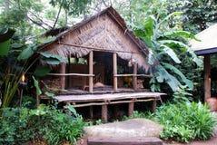 Παραδοσιακό ξύλινο σπίτι Στοκ Φωτογραφίες