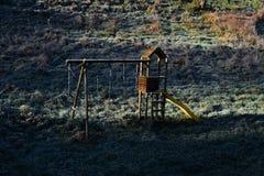 Παραδοσιακό ξύλινο Playset Στοκ φωτογραφία με δικαίωμα ελεύθερης χρήσης
