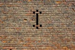 Παραδοσιακό παλαιό υπόβαθρο τουβλότοιχος Στοκ φωτογραφία με δικαίωμα ελεύθερης χρήσης