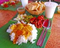 Παραδοσιακό ρύζι φύλλων μπανανών στοκ φωτογραφία με δικαίωμα ελεύθερης χρήσης