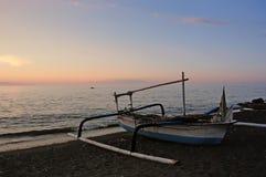 Παραδοσιακό σκάφος Indonesias Στοκ φωτογραφίες με δικαίωμα ελεύθερης χρήσης