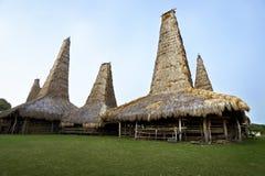Παραδοσιακό σπίτι της φυλής sumba Στοκ Εικόνες