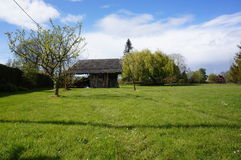 Παραδοσιακό σπίτι χωρών Normandie Στοκ εικόνα με δικαίωμα ελεύθερης χρήσης