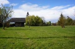 Παραδοσιακό σπίτι χωρών Normandie Στοκ εικόνες με δικαίωμα ελεύθερης χρήσης