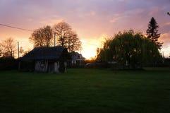 Παραδοσιακό σπίτι χωρών Normandie Στοκ φωτογραφία με δικαίωμα ελεύθερης χρήσης