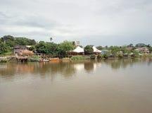 Παραδοσιακό σπίτι kampung στοκ φωτογραφία