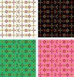 Παραδοσιακό σχέδιο εικονοκυττάρου Στοκ φωτογραφίες με δικαίωμα ελεύθερης χρήσης