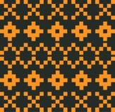 Παραδοσιακό σχέδιο εικονοκυττάρου Στοκ εικόνες με δικαίωμα ελεύθερης χρήσης