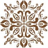Παραδοσιακό σχέδιο του Μπαλί διανυσματική απεικόνιση