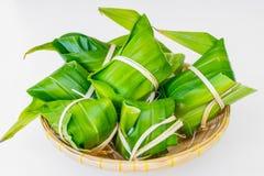 Παραδοσιακό ταϊλανδικό χαλί του Tom foodKhao Στοκ Εικόνες
