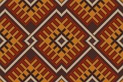 Παραδοσιακό φυλετικό των Αζτέκων άνευ ραφής σχέδιο Στοκ Φωτογραφίες