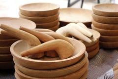 Παραδοσιακό χέρι - γίνοντα γουδοχέρι Στοκ Εικόνες