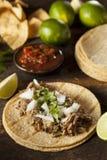 Παραδοσιακό χοιρινό κρέας Tacos Στοκ Εικόνες