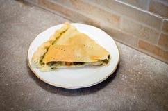Παραδοσιακό χωριό Ischitella apulia Cavicione του gargano recip Στοκ Φωτογραφίες