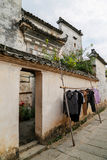 Παραδοσιακό ύφος σπιτιών σε Hongcun, Κίνα Στοκ Εικόνες