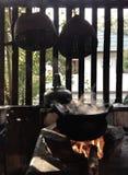Παραδοσιακό ύφος του μαγειρέματος Στοκ φωτογραφία με δικαίωμα ελεύθερης χρήσης