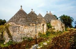 Παραδοσιακό Apulian Trulli Στοκ Εικόνα