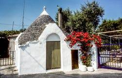 Παραδοσιακό Apulian Trullo Στοκ φωτογραφία με δικαίωμα ελεύθερης χρήσης