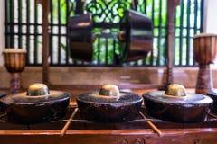Παραδοσιακό Sino Kadazan Gong Στοκ Εικόνες