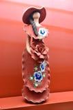 Παραδοσιακό statuette χωρίς πρόσωπο στη Δομινικανή Δημοκρατία Στοκ φωτογραφία με δικαίωμα ελεύθερης χρήσης