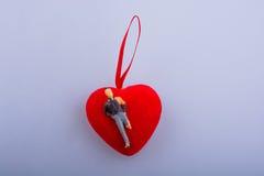 Παραλυμένος αριθμός ατόμων για ένα εικονίδιο μορφής καρδιών Στοκ φωτογραφία με δικαίωμα ελεύθερης χρήσης