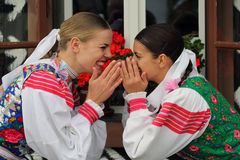 Παραδόσεις, Cicmany, Σλοβακία στοκ εικόνες