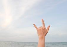 Παραδώστε την αγάπη Στοκ φωτογραφίες με δικαίωμα ελεύθερης χρήσης