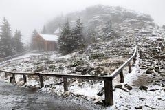 Παρεκκλησι στο μεγάλο βουνό Arber Στοκ φωτογραφίες με δικαίωμα ελεύθερης χρήσης
