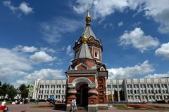 Παρεκκλησι του Αλεξάνδρου Nevsky σε Yaroslavl στοκ φωτογραφία με δικαίωμα ελεύθερης χρήσης