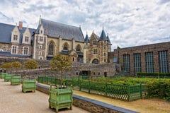 Παρεκκλησι του πύργου Angers στην κοιλάδα της Loire της Γαλλίας Στοκ Εικόνες