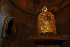Παρεκκλησι του ST Gevorg σε Khor Virap, Αρμενία στοκ εικόνες με δικαίωμα ελεύθερης χρήσης