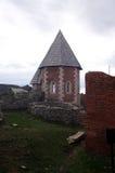 Παρεκκλησι του ST Philip, κάστρο Medvedgrad στο πάρκο φύσης Medvednica στο Ζάγκρεμπ Στοκ Φωτογραφίες