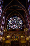 παρεκκλησι chapelle ιερό Παρίσι sainte Στοκ εικόνες με δικαίωμα ελεύθερης χρήσης