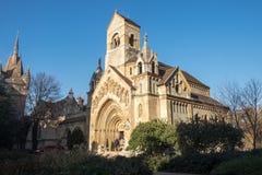 Παρεκκλησι Vajdahunyad Castle Βουδαπέστη, Ουγγαρία στοκ φωτογραφίες με δικαίωμα ελεύθερης χρήσης
