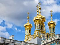 Παρεκκλησι (εκκλησία της αναζοωγόνησης), Pushkin κοντά στο ST Πετρούπολη Στοκ φωτογραφίες με δικαίωμα ελεύθερης χρήσης