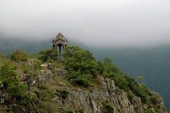 Παρεκκλησι κουδουνιών κοντά σε Halidzor, Αρμενία στοκ εικόνες